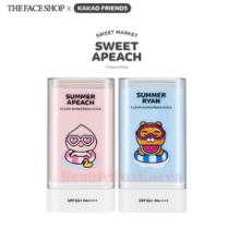 THE FACE SHOP Natural Sun Eco Clear Screen Stick SPF50+PA++++ 20g [The Face Shop x Kakao Friends -Sweet Apeach]